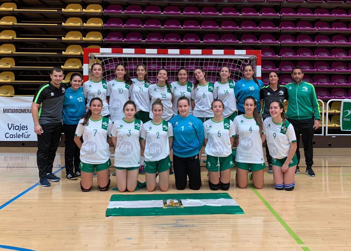 Selección Andalucía Cadete Femenino CESA 2019