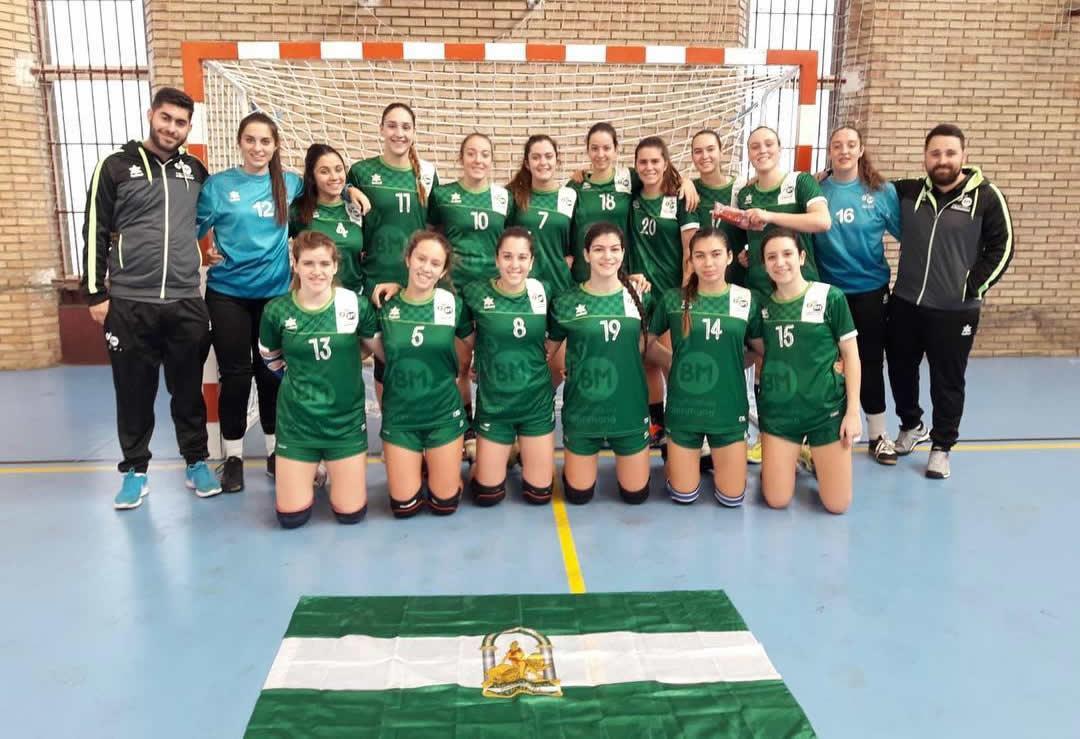 Selección Andalucía Juvenil femenino CESA 2019