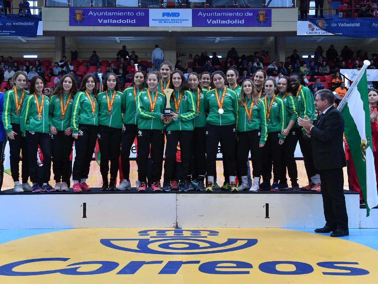 Oro infantil femenino Copa España CESA 2019